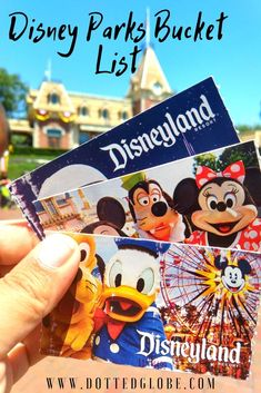 Are you planning a trip to Walt Disney World Orlando or Disneyland Resorts in Anaheim this year and keeping track of a giant Disney bucket list? We have got you covered! Walt Disney World Orlando, Disney Parks, Florida Travel, Travel Usa, Florida Usa, Disney Anaheim, Disney Vacations, Disney Travel, Travel Advice