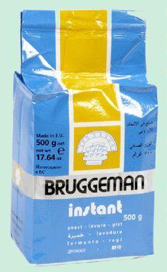 BRUGGEMAN levure instantanée 500gr