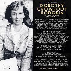 Dorothy Crowfoot Hodgkin Biochemist Nobel Prize Chemistry X-ray techniques biochemical structures