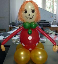 Домовенок из воздушных шаров http://airfriend.ru/articles/65934