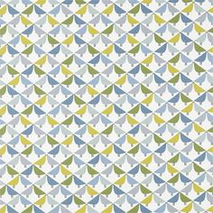 Shop for Fabric at Style Library: Lintu by Scion. Love birds meet to create a fun geometric fabric, with matching wallpaper. Wave Curtains, Pinch Pleat Curtains, Geometric Fabric, Modern Fabric, Curtain Track Gliders, Scion Fabric, Curtain Drops, Scandinavian Fabric