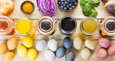 Natural Easter Egg Dye Colors - Farmers' Almanac