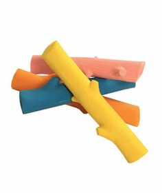 Unique ideas for the dog, cat, even fish in your family from our 2011 gift guide.  Fetching Stick  Bright and squeaky latex sticks will make playing in the park even more fun for your furry friend.  Available in four colors.    To buy: $10, trixieandpeanut.com