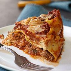 Slow-Cooker Lasagna Recipe from our friends at KRAFT®