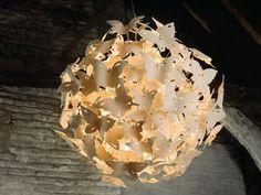 butterfly ball pendant lamp by Diffuse Studio. Wishlist!