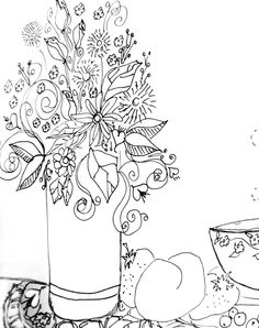 doodle, pen and ink, teresa madore, art