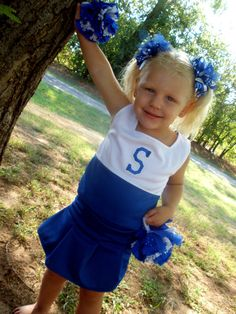 Girls Boutique Cheer Outfit - Toddler Cheerleading Costume, Pageant Costume - 2 piece set