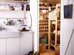 Pantry - GORM shelving units from IKEA