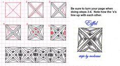 Eiffel by molossus, who says Life Imitates Doodles, via Flickr