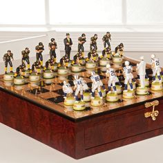 Strategy - Football - Chess connection The strategy is synonymous with chess. If someone wants to describe an activity involving strategy, they often use chess Nfl Sports, Sports Art, School Football, Football Stuff, Go Browns, Man Cave Accessories, Football Equipment, Sports Fanatics, Steeler Nation
