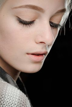 Make-up by François Nars for NARS. Marc Jacobs Collection Fall 2012.