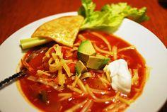 Southwestern Chicken Tortilla Stew