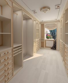 Beautiful+cream+color+walk+in+closet+with+chest+of+drawers