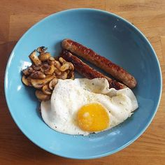 From @loueatsketo Roquefort sausages eggs and mushrooms for breakfast  #keto #ketomeals #lchf #lowcarb #highfat #atkins #bestdietever #whatdiet #fatisfuel #ketogenic #kcko #eatfatloseweight #lowcarbhighfat #ketosis #ketocooking #lowcarbcooking #lowcarbliving #ketoliving #ketofoods #xxketo #ketodiet #ketodinner #weightloss #lifestylechange #ketofitguide #ketofitchallenge