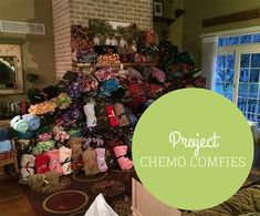 Project Chemo Comfies 2014. The blankets are easy to make and such a cozy surprise to a friend, loved one, or stranger who is battling cancer. Consider making a blanket in honor or in memory of a loved one and donating it to your local cancer center or a neighbor, friend, or acquaintance who is battling cancer. #TakeThemAMeal.com