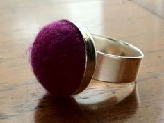 A ring I made myself, based on http://pinterest.com/pin/315227109/
