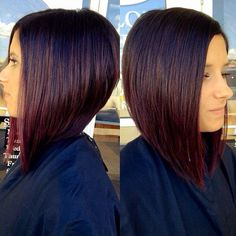 This image is an example of a Graduated Style Cut.