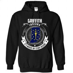 Griffith - INDIANA, Its Where My Story Begins - #geek t shirts #zip hoodie. PURCHASE NOW => https://www.sunfrog.com/States/Griffith--INDIANA-It-Black-Hoodie.html?60505