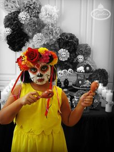 Day of the Dead maracas ~ Lynlee's