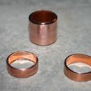 How to make a ring from cast off copper pipe