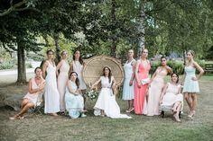 Un mariage bohème au Domaine de La Butte Ronde près de Paris - à découvrir sur www.lamarieeauxpiedsnus.com - Photos : Lifestories Wedding Photography