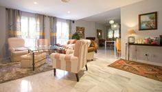 Piso de lujo de 239m2 en venta en El Porvenir, Sevilla Luxury Estate, Patio, Curtains, Room, Furniture, Ideas, Home Decor, Square Meter, Real Estate