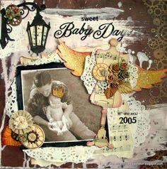 Sweet Baby Days - Scrapbook.com