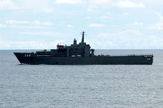 Singapore's Endurance LPD - From Avia Nautica - http://en.wikipedia.org/wiki/Endurance_class_landing_platform_dock_ship