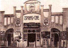 Cinema Spring inaugurat el 1911, passeig de la Bonanova, enderrocat el 1985.