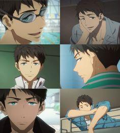 Sousuke is seriously gorgeous! Tokyo Ghoul, Anime Bebe, Manga Anime, Anime Art, Makoto, Splash Free, Free Eternal Summer, Free Iwatobi Swim Club, Kyoto Animation