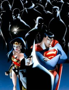 Justice League Unlimited by Bruce Timm