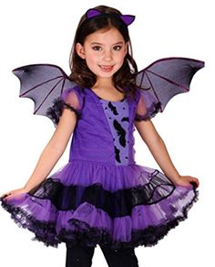 Simplicity Children's Fancy Bat Ballerina Dress Costume, M * Learn more by visiting the image link.