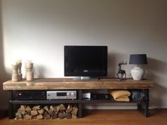 TV-meubel - Oma Mutsje Living Room, House Design, Room, Interior, New Home Designs, Home, New Homes, Woodworking Projects, Interior Design