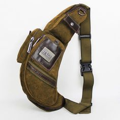 2014 Rushed Desigual Canvas Male Handbags Chest Pack Sandtroopers Bag Large Capacity Single Shoulder Casual Sports $35.54