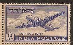 STAMP OF INDIAN POSTAGE_JAI HIND