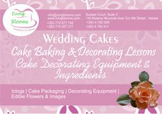 Baking and Icing Lessons