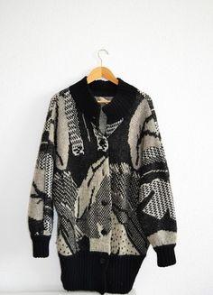 Kup mój przedmiot na #vintedpl http://www.vinted.pl/damska-odziez/dlugie-swetry/10385075-cieply-stylowy-kardigan-oversize