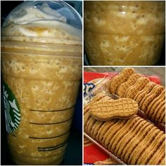 Just added : the *NUTTER BUTTER FRAPPUCCINO* will hit the spot & satisfy your peanut butter cravings! Try it for yourself!