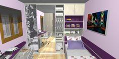 Projetos Dormitórios Solteiro - Machado Moveis - Álbuns da web do Picasa