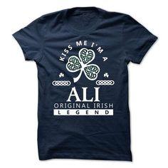 ALI - KISS ME I\M Team - #party shirt #funny sweater. HURRY => https://www.sunfrog.com/Valentines/-ALI--KISS-ME-IM-Team.html?68278