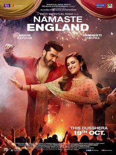 Namastey England poster, t-shirt, mouse pad Bollywood Posters, Bollywood Cinema, Bollywood Actors, Blockbuster Movies, 2018 Movies, If I Stay Movie, Parneeti Chopra, Arjun Kapoor, Shahrukh Khan