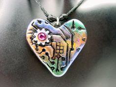 Polymer Clay Bytes! - Tina Holden's Beadcomber: Polymer Clay Heart ...