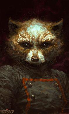 Rocket Raccoon byDaveRapoza.com