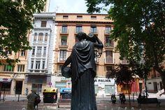 Fuente de la Samaritana en la Plaza del Justicia