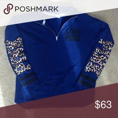 RARE Victorias Secret Half Zip Pullover PERFECT CONDITION NO RIPS, STAINS OR CRACKS Victoria's Secret Tops Sweatshirts & Hoodies