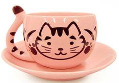 kitty teacup