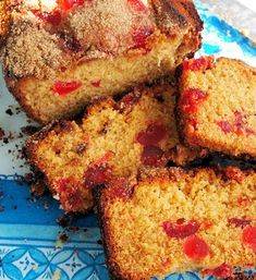 Golden Syrup, Farmhouse Tea and Cherry and Almond Cake - Lavender and Lovage Cherry And Coconut Cake, Cherry Loaf Cake, Almond Recipes, Baking Recipes, Dessert Recipes, Aga Recipes, Desserts, Cherry Recipes, Brownie Recipes