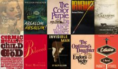 The 50 Best Southern Novels Ever Written via Flavorwire Books.