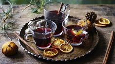 Mary Berry's mulled wine recipe – BBC Food Hp Sauce, Mary Berry, Cocktail Recipes, Wine Recipes, Vegan Recipes, Citrus Recipes, Simple Recipes, Healthy Christmas Recipes, Simply Yummy