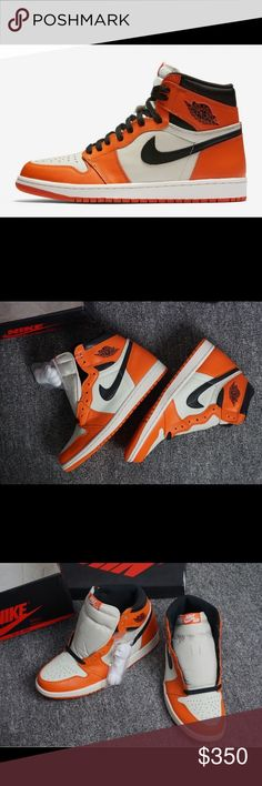 "Air Jordan 1 Retro ""Shattered Backboard Away"" Sz11 The Air Jordan 1 Shattered Backboard, which was inspired by the jersey that Michael Jordan wore when he shattered the Backboard during a Nike Exhibition game in 1985.  Deadstock. 100% Authentic  Comes with original Footlocker receipt  Message me for receipt pics Size 11. Nike Shoes Athletic Shoes"
